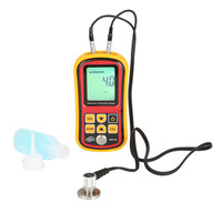 GM100 Intelligent Digital Instruments Thickness Gauge Ultrasonic Backlight LCD Display Measuring Tool Compact Accurate Metal