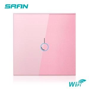 Image 5 - SRAN ab duvar Wifi ışık anahtarı 1/2/3Gang 1/2Way Interruptor akıllı, TUYA akıllı kablosuz anahtarı Alexa Google ev ile çalışmak