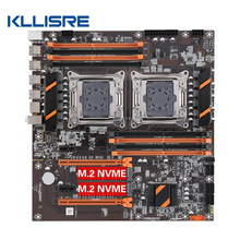 LGA SATA3 Dual-Cpu E-ATX Kllisre X99 Processor M.2 with USB3.0 Dual-M.2-Slot