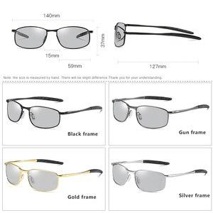 Image 5 - Солнцезащитные очки овальной формы для мужчин и женщин, небольшие поляризационные фотохромные очки для вождения