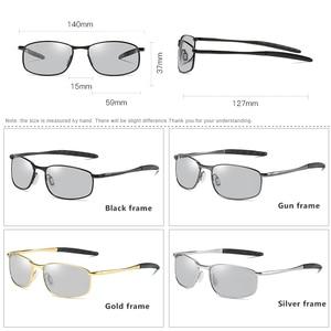 Image 5 - Gafas de sol fotocromáticas polarizadas para hombre y mujer, lentes de sol fotocromáticas de tamaño pequeño, Forma ovalada, adecuadas para conducir