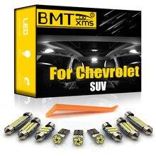 BMTxms Canbus Pour Suburbain Chevrolet Tahoe Equinox Tracker Trailblazer Traverse Véhicule LED Carte Intérieure Dôme Lumière De Coffre Kit
