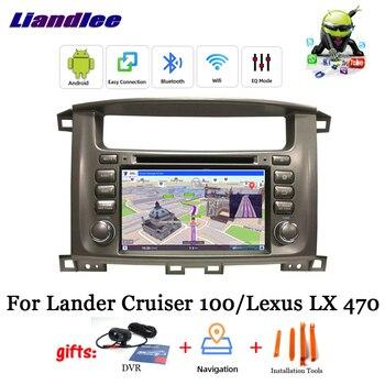 Android 9.0 Car DVD Media Player For Lander Cruiser 100/ For Lexus LX 470 Stereo Radio DSP GPS Map Navi Navigation Multimedia