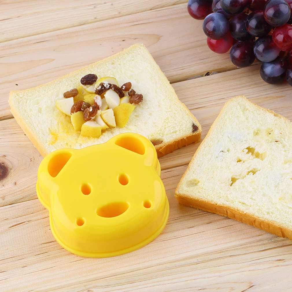 Hàng Mới Về Gấu Nhỏ Hình Bánh Mì Khuôn Bánh Mì Nổi Thiết Bị Khuôn Bánh Máy Làm Tự Làm Khuôn Cắt
