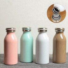 Купить с кэшбэком New 350ML BPA FREE Insulated auto Vacuum Flasks MILK coffee thermos Cup Stainless Steel thermals Water Bottle Travel TEA Mug