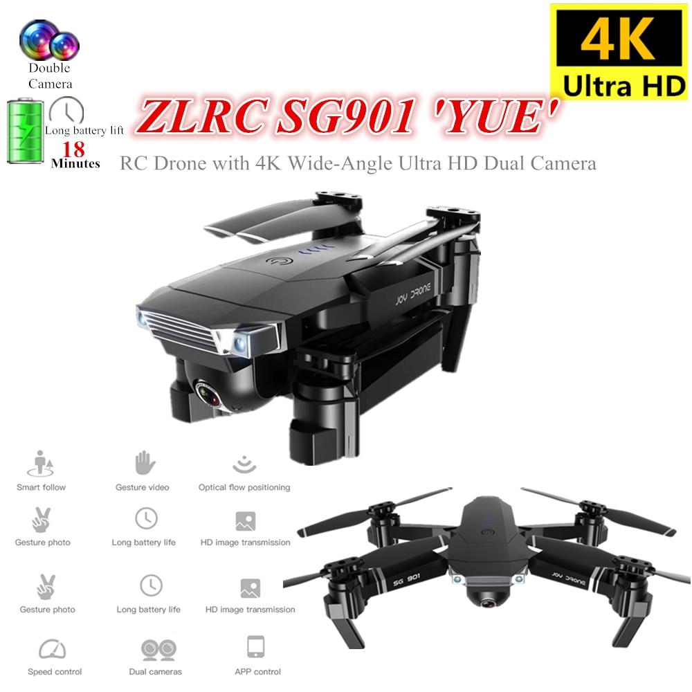 VEDONER S167 GPS 2.4G WiFi FPV Fernbedienung Drohne mit 4K Kamera 1 Batterie