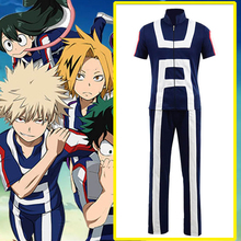 цены на Anime My Hero Academia Cosplay Costumes Katsuki Bakugou Shouto Todoroki Izuku Midoriya Cosplay Costume Uniforms Halloween Party в интернет-магазинах