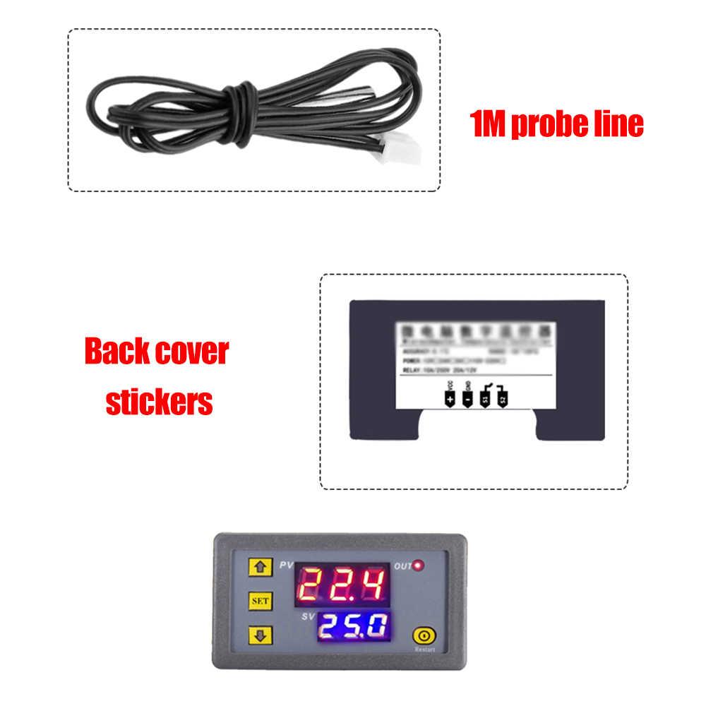 Contrôleur de température extérieur numérique Module de Thermostat interrupteur de Station météo Micro panneau de commande de température de refroidissement de chauffage
