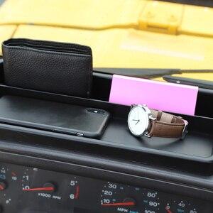 Image 4 - Cruscotto Scatola di Immagazzinaggio per Jeep Wrangler TJ 1997 2006 Dash Telefono Dellorganizzatore Del Supporto Del Vassoio