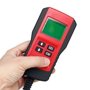 Image 3 - جهاز اختبار تحميل البطارية الرقمي ، شاشة LCD 12 فولت AE300 ، أداة تشخيص السيارة ، الدراجة النارية ، الدراجة النارية