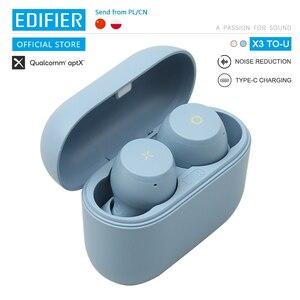 TWS-наушники EDIFIER X3 TO-U, Bluetooth 5,0, голосовой помощник, сенсорное управление