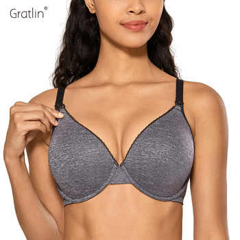 Women's Full Cup Lightly Lined Plunge Underwire Maternity Nursing Bra 32-40  B C D DD E - DISCOUNT ITEM  15% OFF All Category