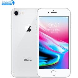 Original desbloqueado apple iphone 8 lte usado celular 2 gb ram 4.7