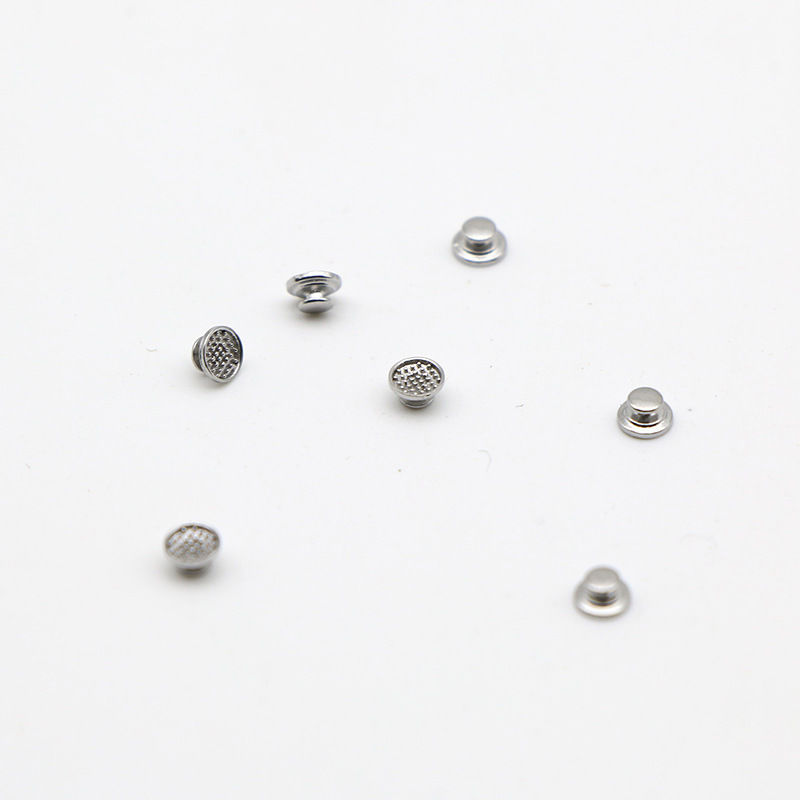 30 Pcs Dental Material Orthodontic Supplies Lingual Button Metal Round Base Dentistry Materiais Dentista Orthodontics Dentist