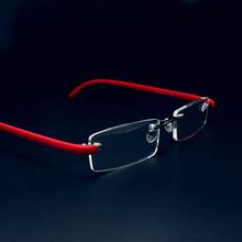 Lupa okulary do czytania okulary do czytania okulary męskie damskie okulary przezroczyste okulary damskie bezramowe okulary + 1 + 1 5 + 2 0 tanie tanio NoEnName_Null WOMEN Jasne Spolaryzowane 2215 5 5cm Akrylowe 3 Scm Stop