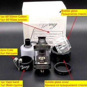 Image 5 - Qp Ontwerp Gata Rta Verstuiver Mtl Rta Tank 24Mm Wederopbouw Druipen Single Coil Wire Box Mods Kits Vs Berserker zeus Kylin