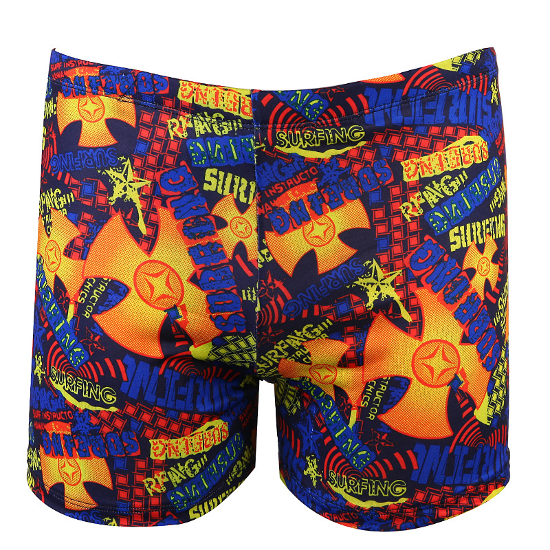 Hot Springs Swimming Trunks Adult Swimming Trunks Men Hot Selling Swimming Trunks Printed Swim Shorts