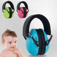 Bebê proteção auditiva crianças com cancelamento de ruído fones de ouvido segurança muffs e65a