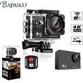 BAPASCO Ultra HD 4K WIFI gopro héroe 4 estilos Allwinner V3 2,0 LCD 170 lente de buceo resistente al agua 30M cámara de movimiento de cámara de casco DV