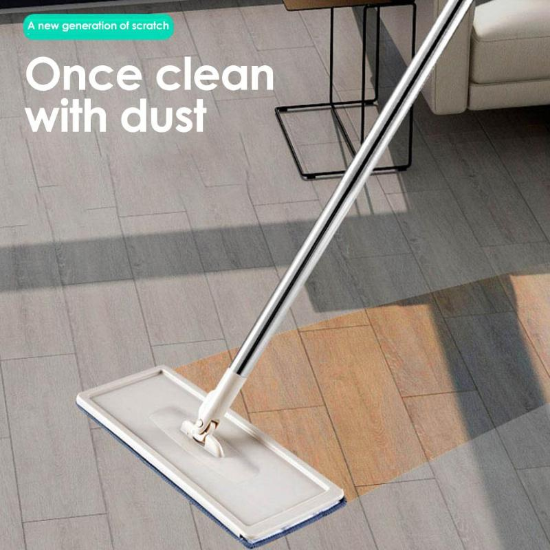 360 Degree Rotating Automatic Spin Mop for Self Floor Washing with Microfiber Pads 1