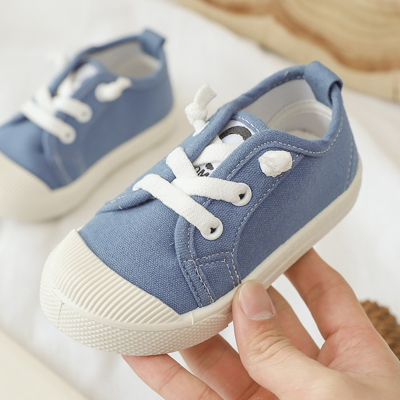 Summer Casual Kids Canvas Shoes For Girls Boys Cotton Non-Slip Children Sneakers Toddler Baby Footwear Casual Shoes