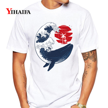 Mens Womens T-Shirt 3D Print Cartoons Fish Graphic Tees Casual Summer TShirts Funny Unisex White Tops Animal Tee Shirts