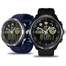 New Zeblaze VIBE 4 Hybrid Flagship Rugged Smartwatch 50M Waterproof 33-month Standby Time 24h All-Weather Monitoring Smart Watch