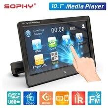 Универсальный 10,1 дюймовый сенсорный экран автомобильный подголовник монитор спинка сиденья MP5 видео плеер USB/TF/IR/FM/Bluetooth/колонки SH1028-MP5