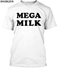 Mega Milk Popular Tagless Tee T-Shirt brand tshirt men summer top tees free shipping sbz4388(China)