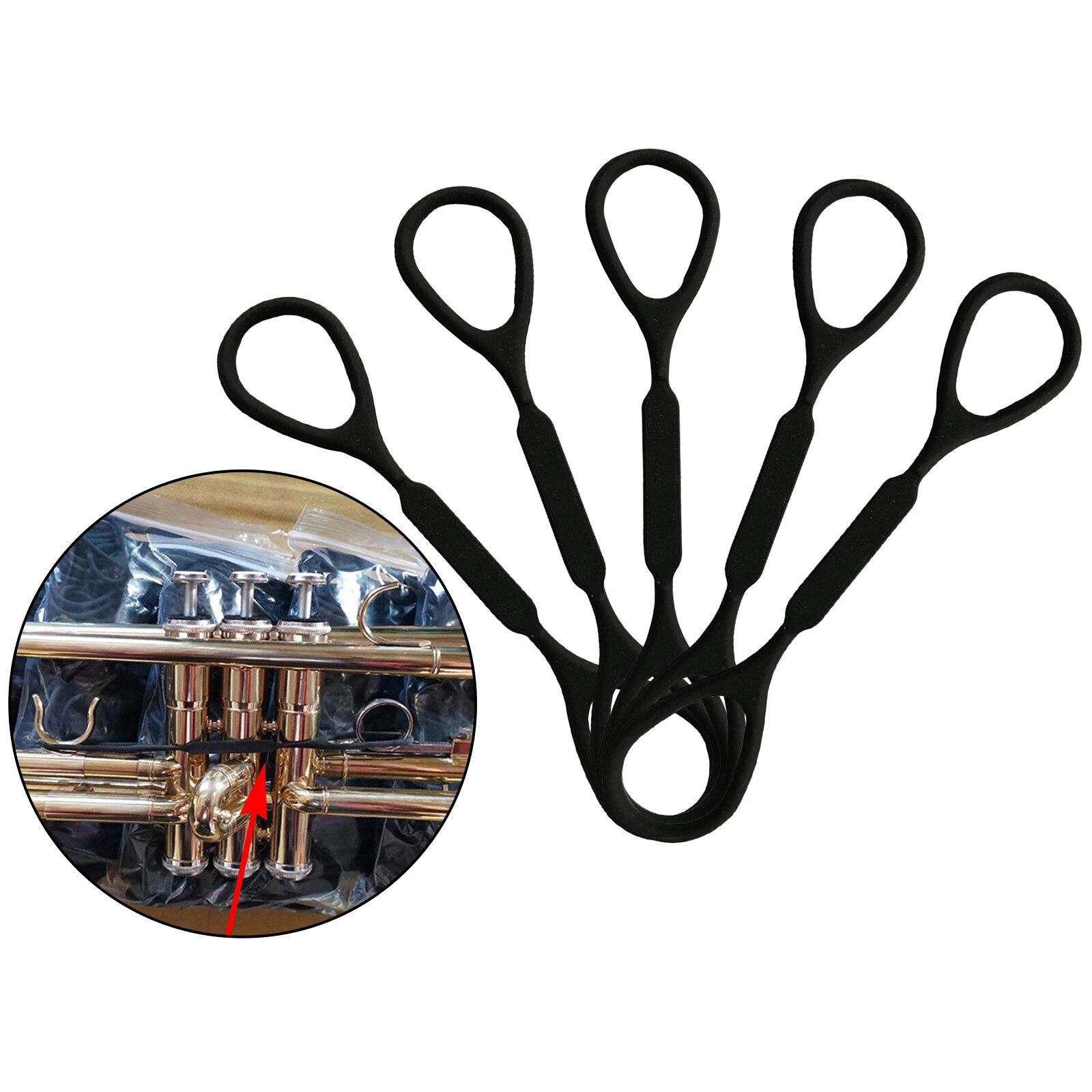 5 шт. силиконовая резиновая труба скользящая пробка аксессуары для музыкальных инструментов