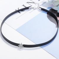 Fashion New Korean Necklaces for woman gift Pendant And Geometrically Movable Stone Necklaces B2