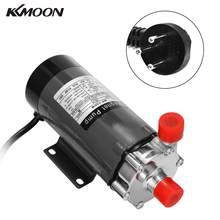 KKMOON-bomba de accionamiento resistente a altas temperaturas, para cerveza casera, de acero inoxidable, magnética, grado alimenticio