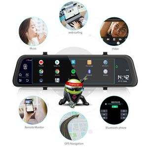Image 5 - 4G Car DVR 12 inch New Android 8.1 GPS WiFi Rearview 1080P For Auto Recorder Car Mirror HD Video Dash Cam Registrator FM
