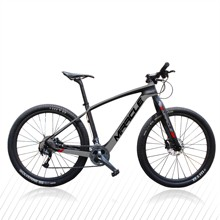 29er rower górski T700 pełne zawieszenie kompletny MTB rowerowe 29er wysokiej jakości węgla rama roweru tanie tanio MIRACLE Mężczyzna Z włókna węglowego Aluminium Mężczyźni 29er carbon MTB Bike To order 10 8kg 115kg 29*2 1