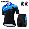 JPOJPO Kit de ropa de ciclismo de calidad superior para mujer  Conjunto de Jersey de ciclismo deportivo de carreras de verano  conjunto de ropa de ciclismo de montaña|Conjuntos de ciclismo| |  -