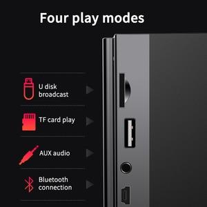 Image 2 - Sans fil Bluetooth haut parleur 2200mAh grande puissance Subwoofer Portable lourd basse stéréo haut parleurs lecteur de musique LCD affichage FM Radio TF