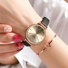 CURREN zegarek sportowy proste panie zegarek kobiety oglądać najlepsze marki luksusowe kobiet wodoodporny zegar prawdziwej skóry bransoletka 9081 tanie tanio QUARTZ Sprzączka CN (pochodzenie) STOP 3Bar Moda casual NONE 12mm ROUND Odporna na wstrząsy Odporne na wodę Hardlex