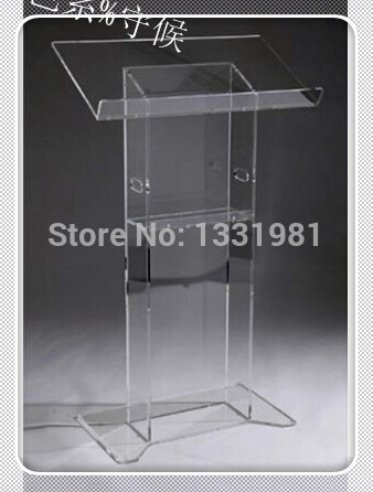 Church Acrylic Podium/Custom Transparent Acrylic Church Lectern / Pulpit / Lectern Hot Selling Church Lectern