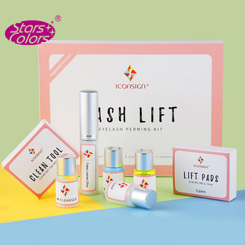 Dropshipping Lash lift Kit Makeupbemine Eyelash Perming Kit ICONSIGN Lashes Perm Set Can Do Your Logo And Ship By Fast Shippment