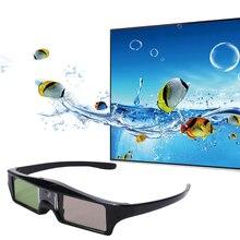 KX302 Collegamento DLP Otturatore Attivo 3D Occhiali Ricaricabile Smart Sensor per il Proiettore Home Cinema Teatro Film Beamer Occhiali