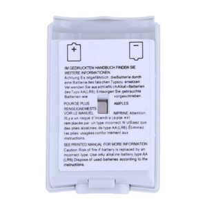 Image 4 - 100 pcs Black & White Optional Plastic Battery Pack Battery Cover Case Replacement for Xbox 360 Repair Parts