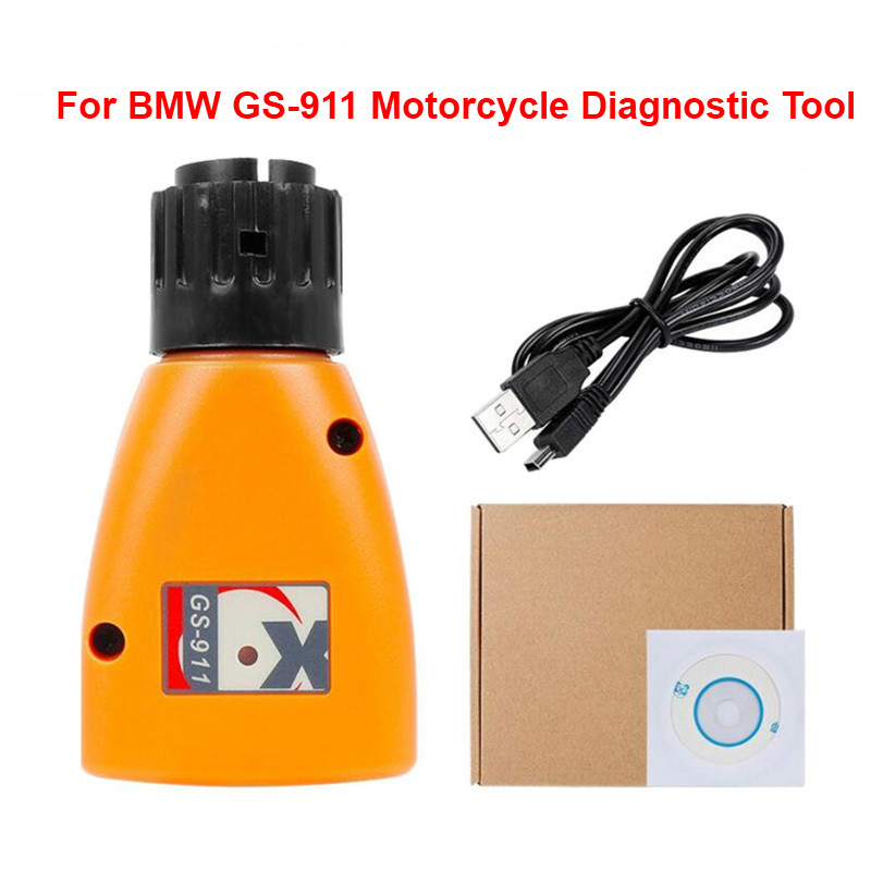 2020 Newly Engine Analyzer GS-911 V1006.3 <font><b>GS911</b></font> Emergency Diagnostic Scanner Tool For <font><b>BMW</b></font> Motorcycles Diagnosing Tool image