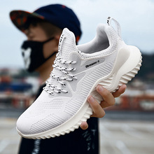 ddn MEN Casual Shoes Fashion Breathable Walking Mesh Flat