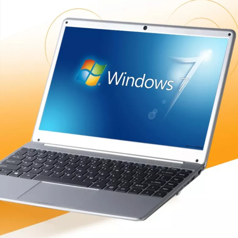8G RAM+240G M.2 SSD 1366X768P 14.1inch ultrabook laptop computer Intel N3520 Quad-core Win7 notebook image