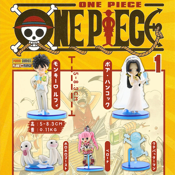 1 Style 5pcs One Piece  Japanese Anime Action Figure Toy Monkey D Luffy Boa Hancock Wedding Figures PVC Collectible Model Doll