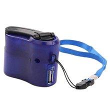 Мобильный телефон Аварийная мощность USB рукоятка зарядное устройство электрический генератор Универсальный мобильный заряд Ручной Динамо зарядка