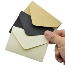 20PCS Small Vintage Classical Blank Paper Envelopes White Black Kraft Mini Window Envelope Write Letters Tools Gift Card Holder