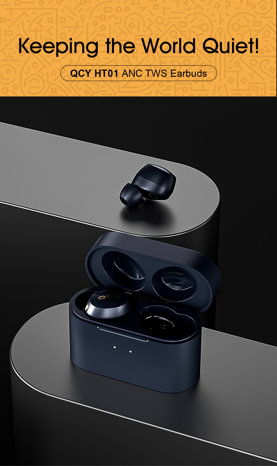 Xiaomi QCY HT01, auriculares ANC de bajo coste - Noticias Xiaomi