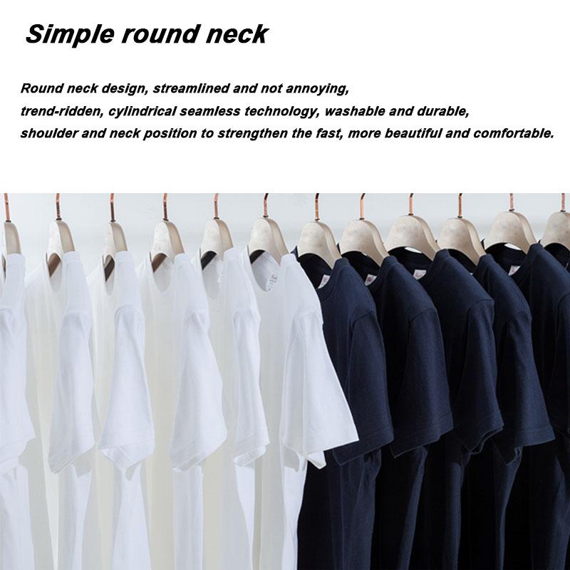 Xin yi Мужская футболка высокое качество 100% хлопок короткий