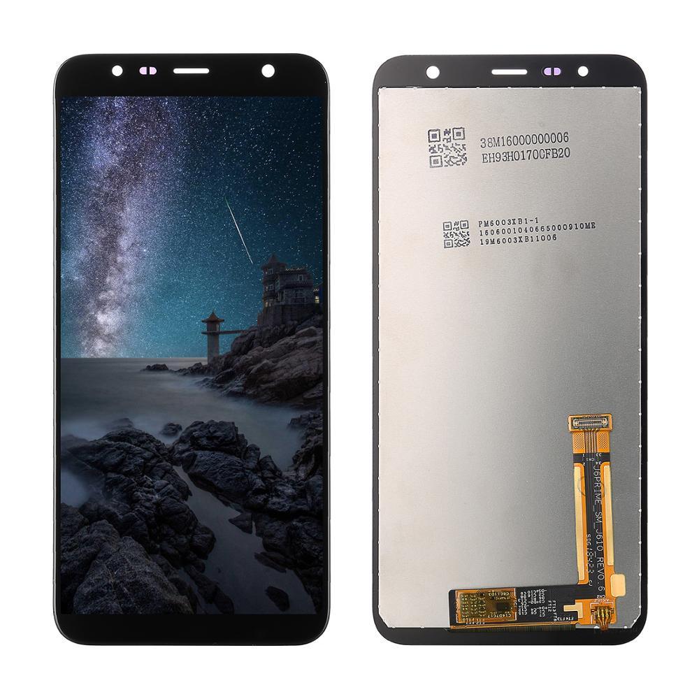 Pour Samsung Galaxy J4 + 2018 J4 Plus J415 J415F J410 J6 Prime J6 Plus 2018 J610 LCD écran tactile capteur